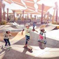 Skate park dubai