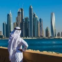 Vista cidade Dubai