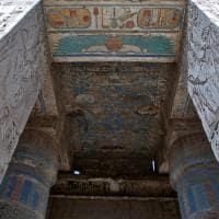 Entrada do Templo Habu, Luxor.