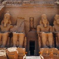 Templo Abu Simbel, Aswan.