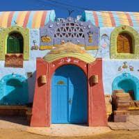 Vila Núbia, em Aswan - Egito