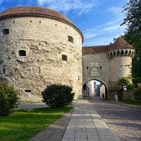 O famoso portão de Taline - Estônia.