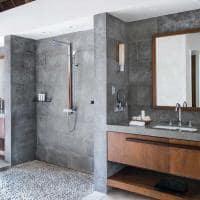 Banheiro One Bedroom Beachfront Villa, Kokomo Private Island Resort