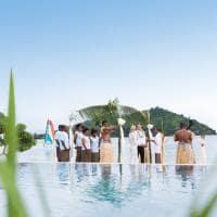 Casamento, Likuliku Lagoon Resort