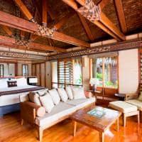 Interior Beachfront Bure, Likuliku Lagoon Resort