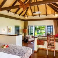 Interior Beachfront Villa, Matamanoa Island Resort