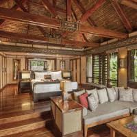 Interior Deluxe Beachfront Bure, Likuliku Lagoon Resort