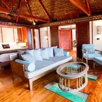 Interior Overwater Bure Bangalô, Likuliku Lagoon Resort