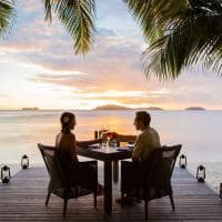 Jantar privado, Kokomo Private Island Resort