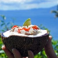 Kokoda, comida típica fijiana