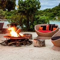 Masima Island Bar, Likuliku Lagoon Resort