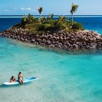 Six Senses Fiji Stand Up Paddle