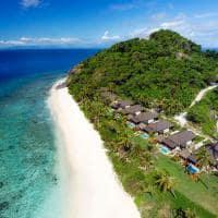 Vista aérea, Matamanoa Island Resort