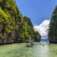 Grande lagoa El Nido, Filipinas