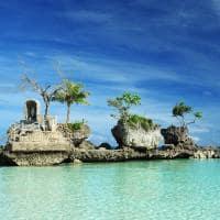 Willy's Rock, na Ilha Boracay, Filipinas