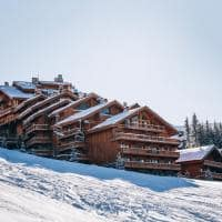 Le coucou meribel exterior do hotel