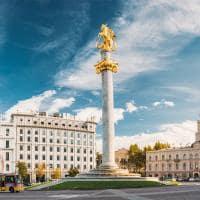 Monumento a liberdade tbilisi