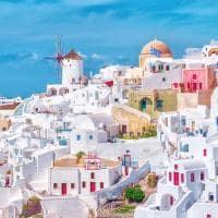 As cores de Santorini - Grécia