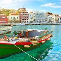Barco em Creta - Grécia.