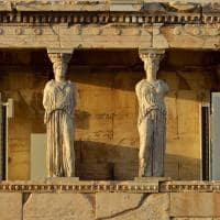 Cariátides de Erecteion - Grécia.