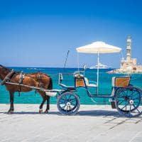Carruagem em Creta - Atenas.