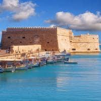 Castelo veneziano de Heraklion - Grécia.