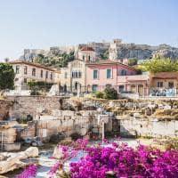 Distrito de Plaka - Atenas, Grécia.