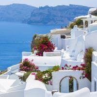 Ilha de Santorini, Grécia.
