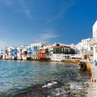 Little Venice - Míconos, Grécia.