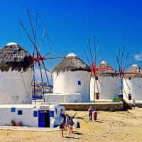 Moínhos de vento - Míconos, Grécia.