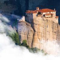 Mosteiro de St. Stephen - Metéora, Grécia.