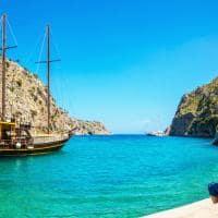 Pacote Grécia: passeio barco mar