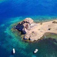 Praia Pretra - Patmos, Grécia