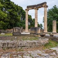 Ruínas de Philippeion - Olímpia, Grécia.