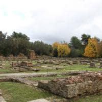 Sítio arqueológico de Olímpia - Grécia.