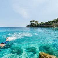 Snorkel Zaquintos Grécia.
