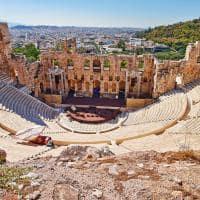 Teatro Herodion - Atenas, Grécia.