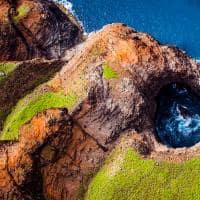 Na Pali Coast em Kauai, Havaí.