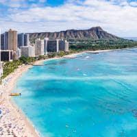 Praia de Waikiki - Oahu, Havaí.