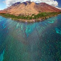 Vista panorâmica da Ilha de Maui.