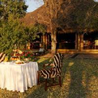 Jantar romantico Camp Jabulani