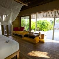 Beach Villa do Six Senses Laamu, Maldivas