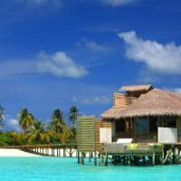 Water Villa no Six Senses Laamu, Maldivas