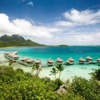 Vista aérea, Sofitel Bora Bora Private Island