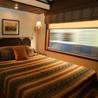 Cabine Deluxe Suite, Maharajas' Express, Trem de luxo, Índia