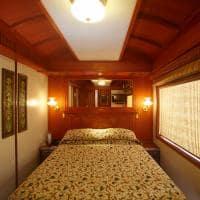 Cabine Junior Suite, Maharajas' Express, Trem de luxo, Índia