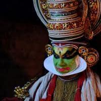 A tradicional dança Kathakali