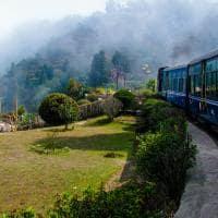 Trem de Brinquedo, em Darjeeling
