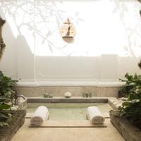 Banheiro Village Suite, Amandari