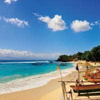 Praia Dream, Nusa Lembongan, Bali, Indonésia